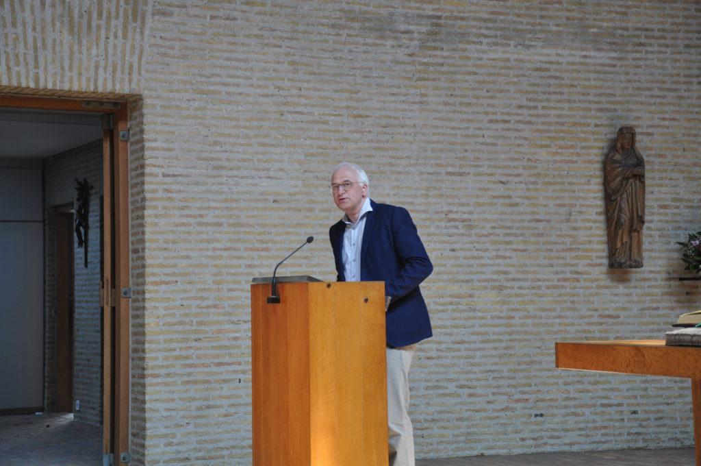 Erik Galle gaf zijn indrukken als lezer van het boek.
