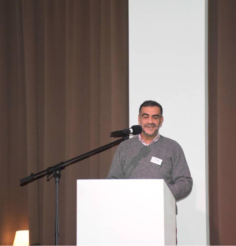 Youssef Souissi, voorzitter van VOEM